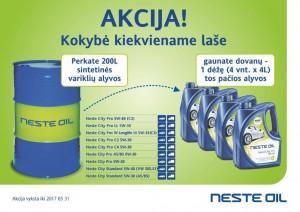 Akcija - Neste City Pro + 1 dėžė nemokamai el.pastu
